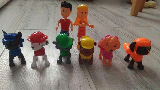 NOWY zestaw WYSYLKA 24H figurek figurki ryder katie PREZENT