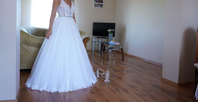 Sprzedam sukienkę ślubną  księżniczka