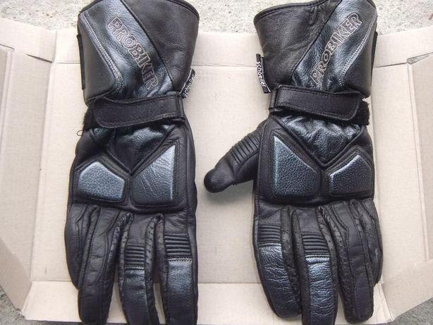 Okazja Nowa Cena-Skórzane rękawice na Motor-Probiker rozmiar M-L