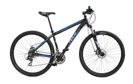 Bicicleta roda 29 polegadas BIC TEAM SUSP R29 21 VEL-SH TD