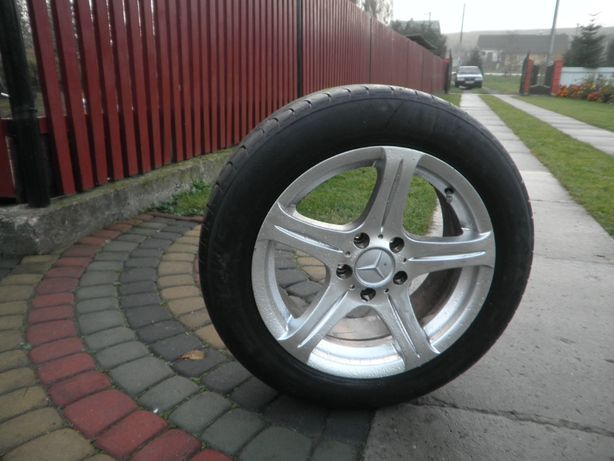 ТитаниR 16 колеса 205*55 R16 Mercedes кола