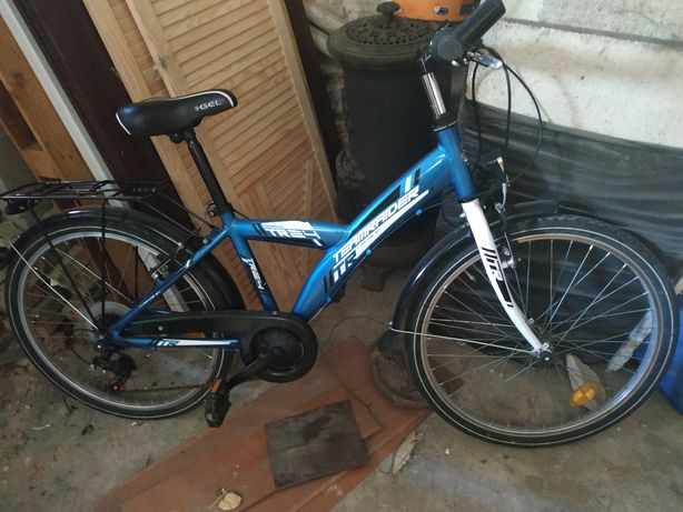 """Rower dziecięcy 24"""" koła aluminiowa rama"""