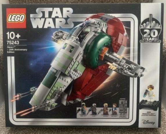 Set Lego Star Wars 75243 Slave I 20th Anniversary Raro Selado