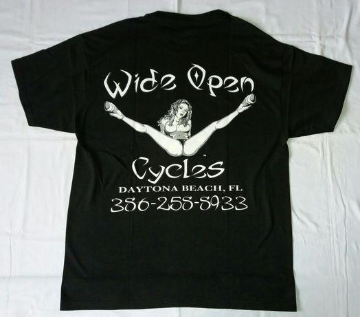 Koszulka Wide Open Cycles rozmiar L/XL