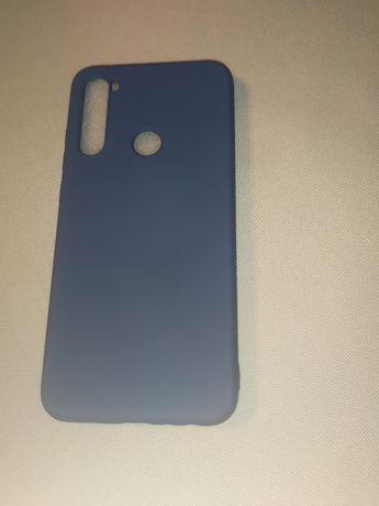 Etui case Xiaomi Redmi Note 8 ciemny niebieski