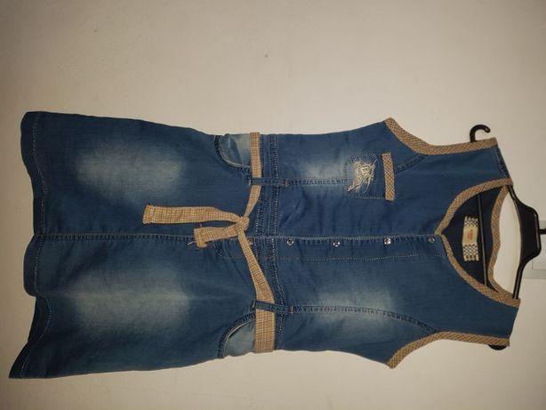 Jeansowa sukienka BURBERRY LONDON 146