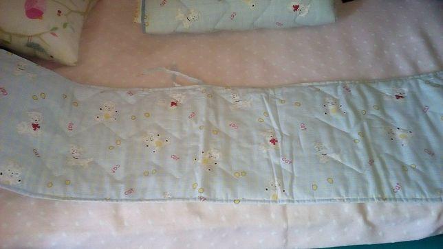 Conjunto para cama de grades bebé