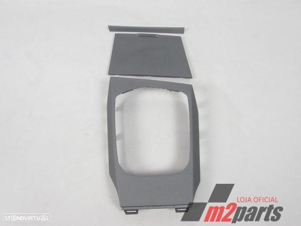 Conjunto de frisos Consola Central - Quartzo Matt Cinza Prata NOVO BMW/3 (G20)/3...