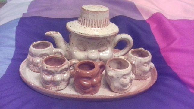 Ladny zestaw do kawy lub herbaty