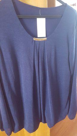 Camisola azul nova com etiqueta