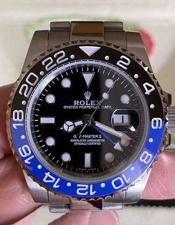 Relógio Automático Rolex Pepsi, Batman, Hulk e Black ETA 2813