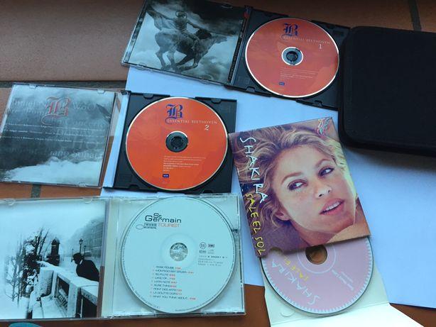 Bolsa/ Arquivador com 4 CDs originais