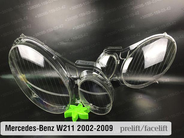 Стекло Mercedes-Benz w211 кузов E-CLASS Мерседес фара 2002-2009 новое