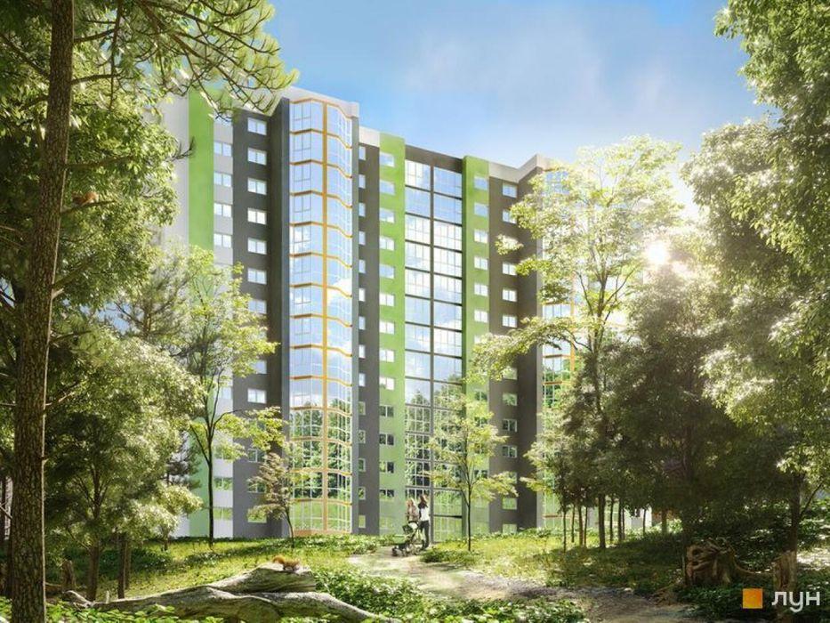 ЖК Вудстория Двухкомнатная квартира возле парка Киев - изображение 1