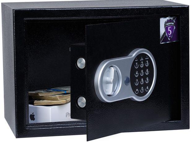Взломостойкий сейф 35х25х25см, электронный замок.Пересылаем почтой