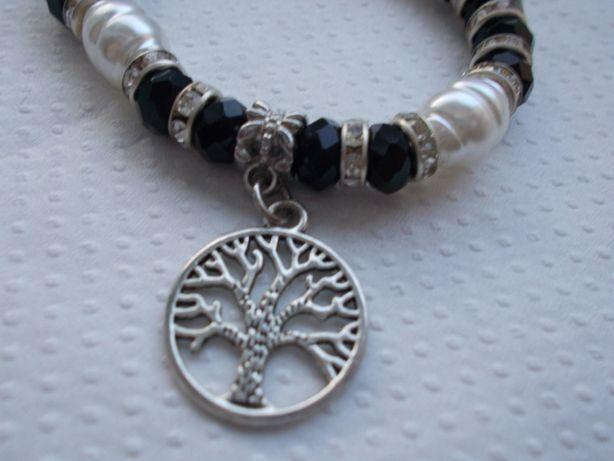 bransoletka shamballa drzewo perełki korale Dzień Matki
