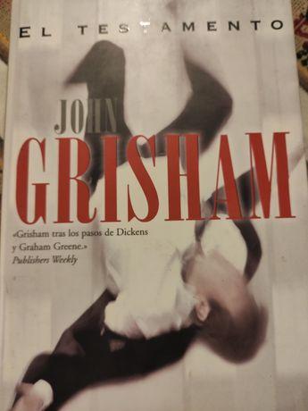 Książka hiszpański Espanol. John Grisham. El Testamento