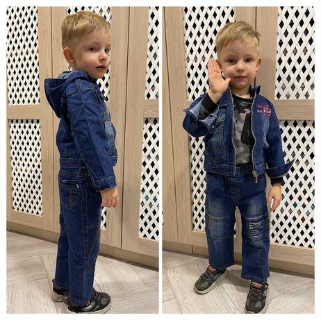 Джинсовый костюм 92,98,104