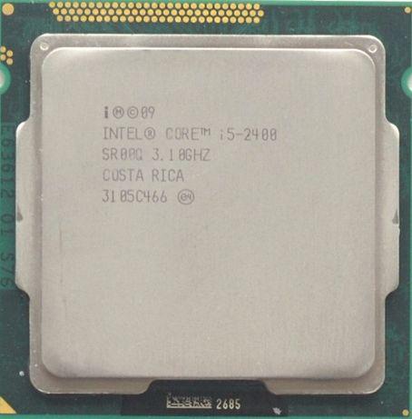 Процессор I5 2400 3.1Hz 6Mb Intel Core 1155 SR00Q | Гарантия 1 Год