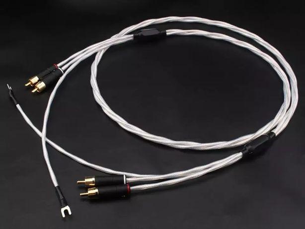 Kabel RCA do gramofonu 7N OFC