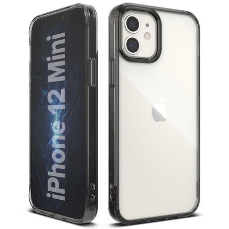 Capa Bumper Ringke Fusion Iphone 12 Mini - Cinza