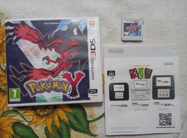 Pokemon Y   Nintendo 3DS   Completo