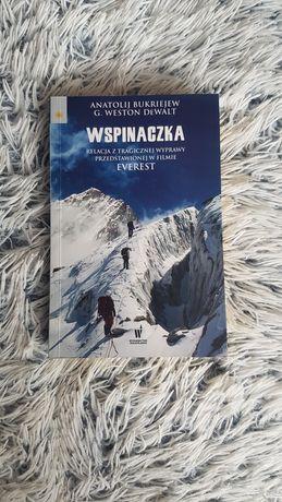 Książka Wspinaczka bestseller na faktach na podstawie filmu Everest