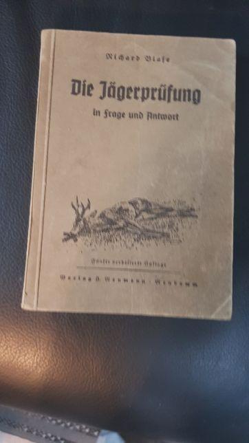 Die Jägerprüfung 1941 rok. Ksiązka myśliwska w jezyku niemieckim