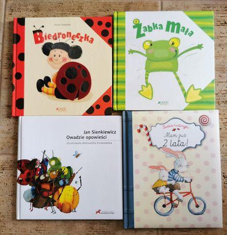 Książki dla dzieci Biedroneczka, Żabka mała, Owadzie opowieści
