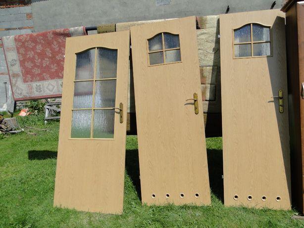 Drzwi wewnętrzne 2 sztuki