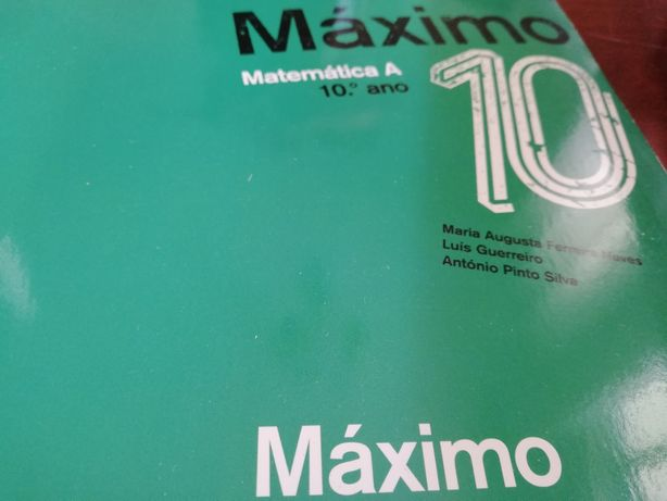 Manual escolar Matemática 10° ano