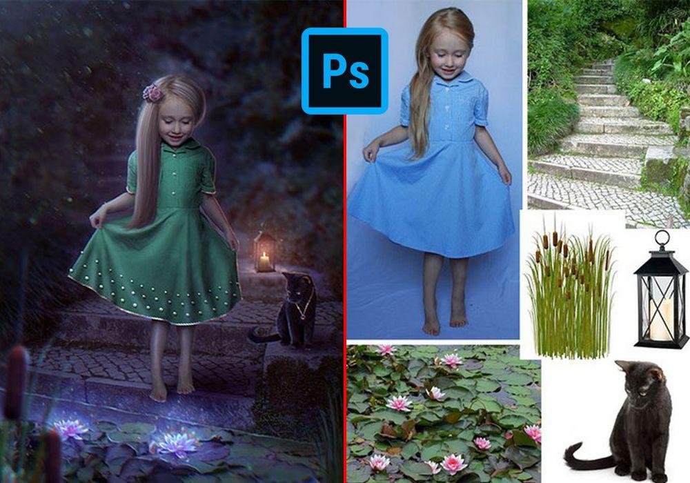 Obróbka zdjęć| Fotomontaz| Usuwanie obiektów| Odchudzanie Photoshop