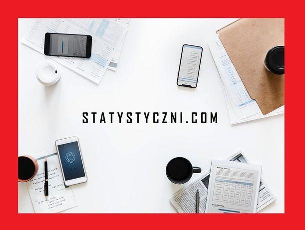 Analiza statystyczna, statystyka, analizy ankiet - usługi statystyczne