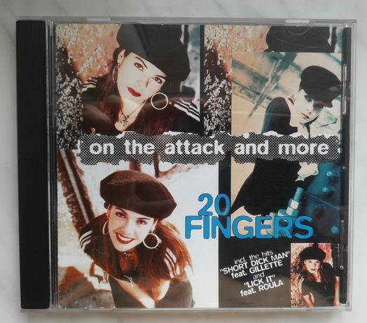 """Płyta CD """" 20 FINGERS - on the attack and more """""""