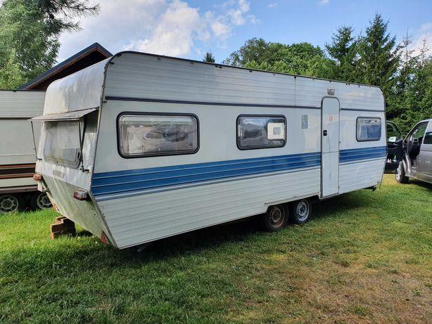 XL Knaus 640 przyczepa kempingowa TRANSPORT pod Dom camping DOMEK