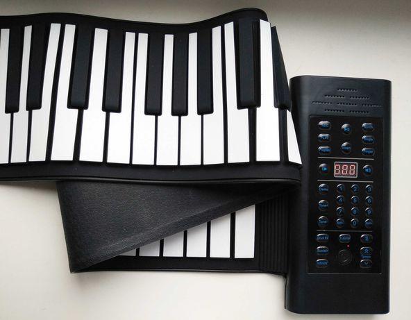 Гибкое пианино клавиатура