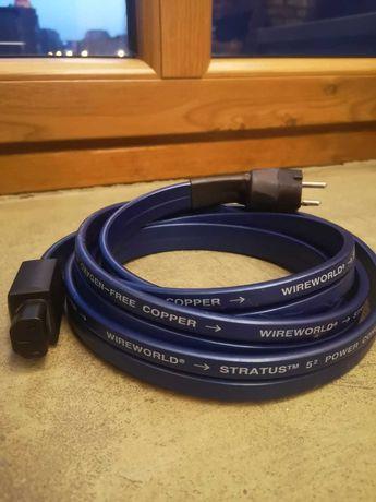 Kabel sieciowy Wire-World Stratus 5 3m Hi-End