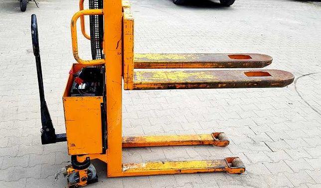 Paleciak elektryczny wysoki sztaplarka wózek paletowy 1T 03r