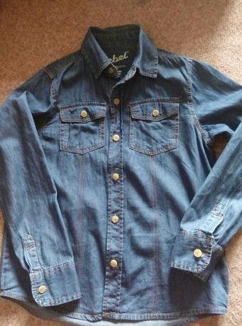 Джинсовая рубашка Rebel на мальчика
