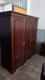 Mobilia restaurada maciça- embalada