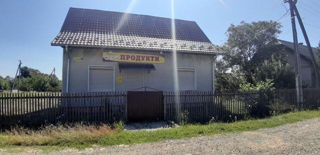 Продаж Магазину з землею і будинком під реконструкцію