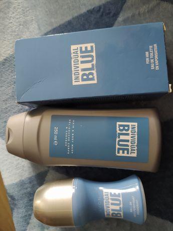 Męski Zestaw avon 3szt individual blue