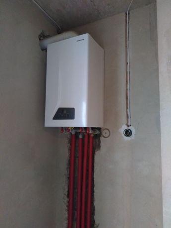 Монтаж опалення, водопостачання, каналізації та сантехніка 400грн