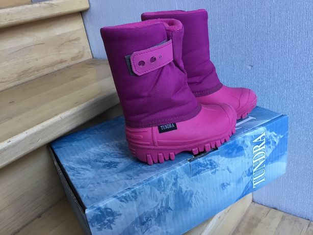 Сноубутсы зимние сапоги tundra 24 размер чоботи