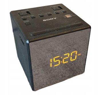 SONY ICF-C1TB Radio / Budzik FM/AM wyświetlacz LED