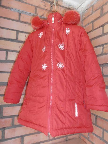 Курточка зимняя на девочку 5-6 лет Marskid