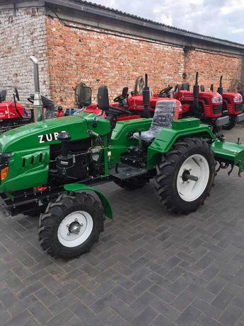 Мини трактор zubr 240 с фрезой. 24 л.с. Гарантия, Доставка