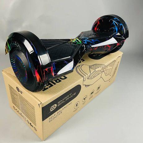 Гироборд 8д Hoverbot гироскутер Молния цветная(САМОВЫВОЗ КИЕВ)