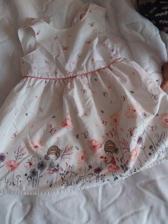 Sukieneczka dla dziewczynki 12-18m