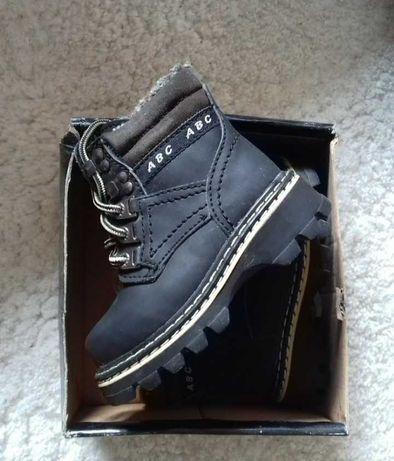 Buty trapery nowe w pudełku